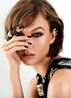leahcultice:  Karlie Kloss by Eric Guillemain for S Moda September 2013