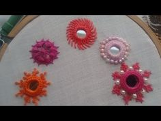 - Mirror Designs - work embroidery शीशा लगाने का सबसे आ. work embroidery The easiest way to app. Hand Embroidery Videos, Hand Embroidery Flowers, Embroidery Stitches Tutorial, Hand Work Embroidery, Hand Embroidery Patterns, Embroidery Techniques, Ribbon Embroidery, Embroidery Thread, Kutch Work Designs
