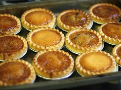 Gooey and delightful, butter tarts are a staple treat at any Canadian holiday—usually Christmas, but I've seen them at Thanksgiving and Easter as well. I actually had no idea that they … (easy biscuits recipe no butter) Tart Recipes, Baking Recipes, Baking Ideas, Fun Recipes, Winter Recipes, Best Butter Tart Recipe, Pie Dessert, Dessert Recipes, Dessert Ideas