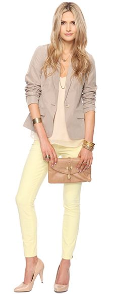 Great Light Colored Look from Forever 21