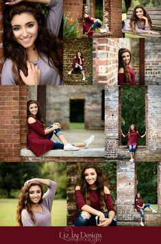 Senior Portraits Atlanta Georgia  collage