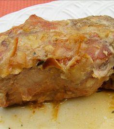 Pork Chops With Orange and Mustard Sauce