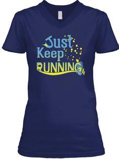 Limited Edition - Just Keep Running | Teespring