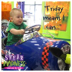Enter to Win a FREE kid's haircut!! Every Friday it's Free Haircut Friday #TGIF https://www.facebook.com/photo.php?fbid=623105347732335&set=a.155634827812725.29821.136142749761933&type=1&theater
