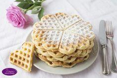 Vanille Waffeln - Vanilla waffels