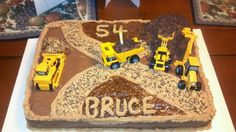 Heavy equipment operator cake