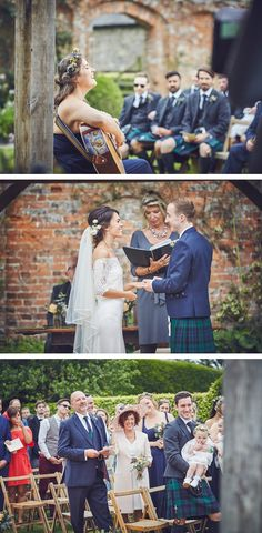 Some of our favourite photos from Emma and Ross's laughter-filled wedding day at the stunning Kingston Estate in Devon by team of two documentary wedding photographers Nova Emma Ross, Wedding Ceremony, Wedding Day, Bridesmaid Dresses, Wedding Dresses, Kingston, Documentaries, Nova, Groom