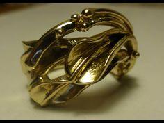 Steven Medhurst - Art Jeweller 18ct gold ring