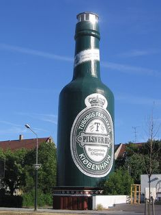 Tuborg beer bottle in Copenhagen