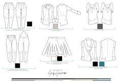 Flat Drawings Free Pattern, Pattern Ideas, Patterns, Fashion Sketches, Fashion Drawings, Flat Drawings, Fashion Portfolio, Technical Drawing, Yohji Yamamoto