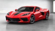 Corvette Stingray For Sale, Corvette For Sale, Chevrolet Corvette Stingray, Corvette Price, Little Red Corvette, New Chevy, Corvette Convertible, Racing Stripes, Sport Cars
