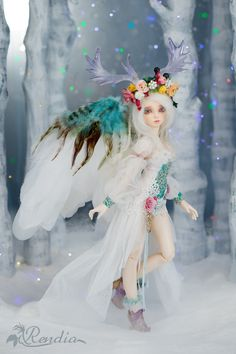 FairyLine Rendia Full Package (Goddess of Forest) Anime Dolls, Ooak Dolls, Blythe Dolls, Barbie Dolls, Big Eyes Artist, Different Kinds Of Art, Realistic Dolls, Doll Repaint, Cute Dolls