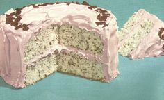 VINTAGE RECIPES: 1940S CAKE MIX RECIPES-Choco-Mint Cake with recipe (scroll down)