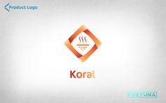 Diseño de Logotipos para productos de la marca NGS (Nutrición y Genética Saludable). By: Fortuna Estudio #redesign #design #ngs #fortuna #estudio #fortunaestudio #branding #orange #koral #genetic #logo