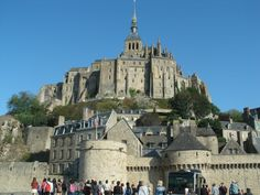 Mont Saint Michel was beautiful. It's essentially it's own little island in France.