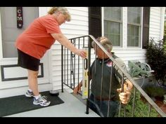 How to Repair a Rusted Wrought Iron Railing - This Old House - YouTube