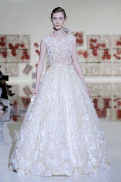 Vestido de boda para mujer alta