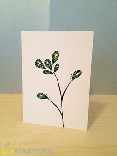 Little Sprouts Notecard by illystrations on Etsy, $4.50