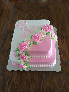 Immagine immagine per Daniela Bolos - - baby kuchen - Cake Icing, Buttercream Cake, Eat Cake, Cupcake Cakes, Pretty Cakes, Beautiful Cakes, Amazing Cakes, Cake Decorating Techniques, Cake Decorating Tips