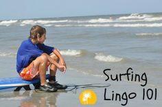 Surfing lingo, Hilton Head Island