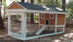 This looks great, but I wonder how hard it would be to keep this chicken tractor white