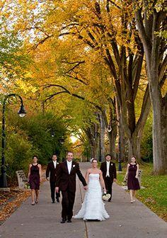 Penn State elms wedding photo - William Ames Photography