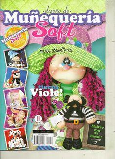 Muñecas soft, revista con patrones