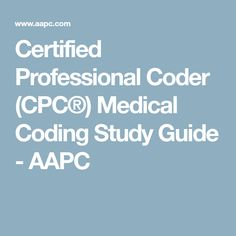 pass the aapc cpc exam on your first try with the best online cpc rh pinterest com Certified Professional Coder CPC Certification Nurse