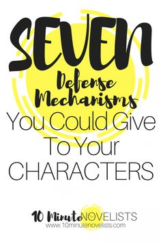 7 Defense Mechanisms You Could Give To Your Character