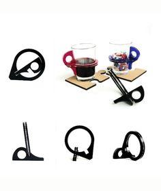Tomar un vaso caliente con las manos ya no será un problema con este accesorio, ideal para las personas que trabajan en oficina amantes del café