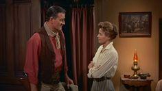 John Wayne - Une scène de Rio Bravo avec Angie Dickinson - 1959
