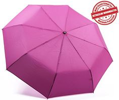 Kolumbo Travel Umbrella - Auto Open/Close - Windproof - UltraSlim, Compact For Easy Carrying - Wind Tested 55MPH - Best Umbrella - One Handed Operation - Won't Flip Inside Out - Sturdy, High Quality - Durability Tested 5000 Times - Lifetime Guarantee Kolumbo http://www.amazon.com/dp/B00UR0EJXM/ref=cm_sw_r_pi_dp_R54Xvb05FS439