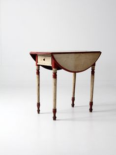 97 Best Old Drop Leaf Tables Images In 2019 Painted Furniture