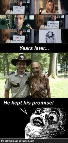 Love Actually meets Walking Dead. I did NOT piece this together until now