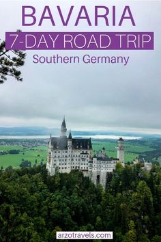 Here is the ultimate road trip itinerary for Bavaria, Southern Germany. Find out about the most beautiful places to see, best things to do and more travel tips for Bavaria incl. Road Trip Europe, Europe Travel Guide, Travel Guides, Europe Destinations, Amazing Destinations, Holiday Destinations, Visit Germany, Germany Travel, Cool Places To Visit