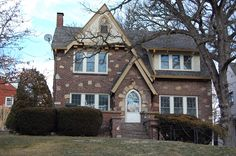one of my favorite Tudor style houses in my city