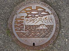 https://flic.kr/p/p7XMrH | Himi Toyama, manhole cover 2 (富山県氷見市のマンホール2)