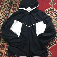 Nike sport jacket⛹ Brand new Nike black jacket, dri- fit. $15. Nike sweater - $14. Both are $26 Nike Jackets & Coats
