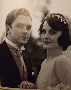 Downton Abbey - Lady Mary and Matthew Crawley
