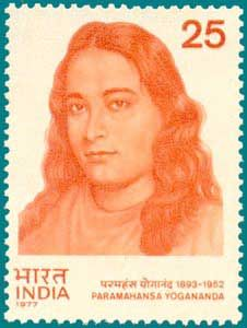 Indian Postage-Stamp to honor Swami Parmahansa Yogananda -- author of ' Autobiography of a Yogi '