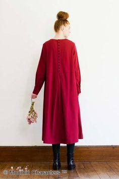 時にはなりきってみる?|リトルミイ 麻混素材の赤いワンピース Moomin, Cold Shoulder Dress, Dresses With Sleeves, Long Sleeve, Syrup, Shopping, Fashion, Moda, Sleeve Dresses