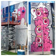 Art Decor, Concept Art, Graffiti, Street Art, Graphic Design, Lp, Dubai, Miami, Paintings