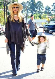 Rachel Zoe pregnant and Skyler -- style me like that