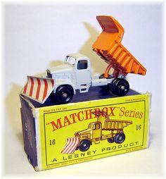 Matchbox 16c Scammell Mountaineer Snow Plow(1964)