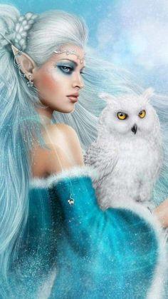 Fantasy Art Women, Beautiful Fantasy Art, Beautiful Fairies, Fantasy Girl, Beautiful Things, Beautiful Pictures, Elfen Fantasy, Chica Fantasy, Elfa
