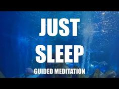 Just Sleep Guided Meditation, CALM Hypnosis for insomnia. Hi, I'm Christian Thomas, the voice of meditation vacation. This guided meditation for sleep is for. Guided Imagery Meditation, Meditation Mantra, Guided Meditation For Sleep, Mindfulness Meditation, How To Calm Anxiety, Calming Anxiety, Insomnia Funny, Christian Meditation, Sleep Remedies