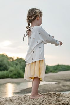ADA VANILLE + RAINDROPS bluza dziecięca   Polly