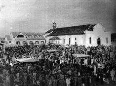 Festa do dia de Cristo Rei na igreja do mesmo nome -anos 1940.