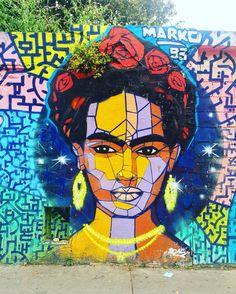 """""""No estoy enferma! estoy rota, pero estoy feliz de estar viva mientras pueda pintar"""" #fridakahlo by @marko93 #marko"""