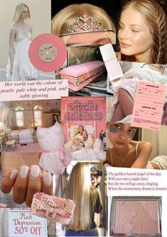 Detention Slips, Pale White, Pale Pink, Princess Barbie Dolls, Red Scare, Girl Interrupted, Angel Aesthetic, Blogger Girl, Collage